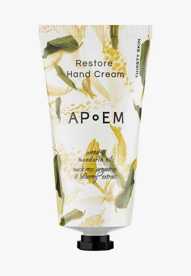 RESTORE HAND CREAM - Handkräm - restore hand cream