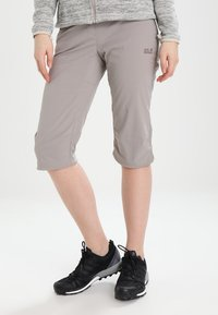 Jack Wolfskin - ACTIVATE LIGHT 3/4 PANTS - 3/4 sports trousers - moon rock - 0