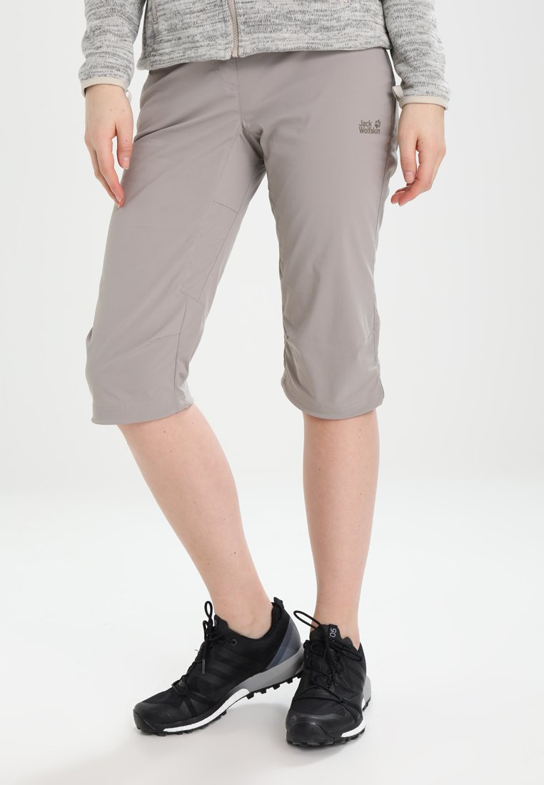 Jack Wolfskin - ACTIVATE LIGHT 3/4 PANTS - 3/4 sports trousers - moon rock