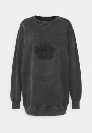 RELAXED CREW - Collegepaita - faded dark grey