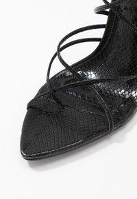 ALDO - CARREGAL - Sandaler med høye hæler - other black - 2