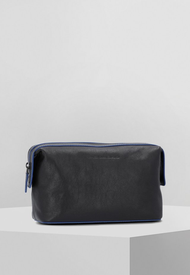 Wash bag - blue/grey