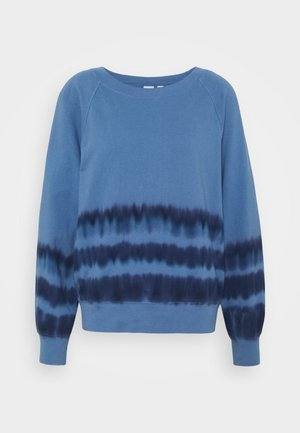 TIE DYE - Sweater - blue