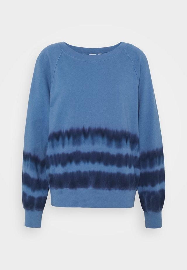 TIE DYE - Sweater - blue