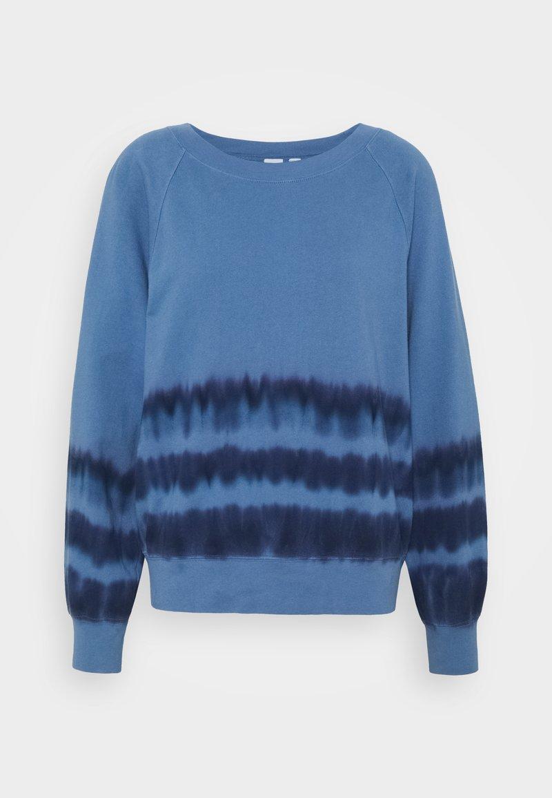 GAP - TIE DYE - Sweatshirt - blue