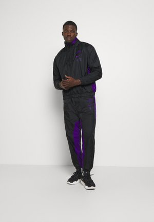 NBA LA LAKERS TRACKSUIT - Club wear - black/field purple