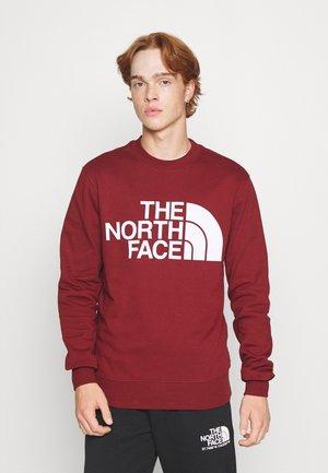 STANDARD CREW - Sweatshirt - brick house red