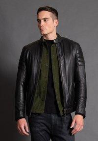 Tigha - ASHTON - Leather jacket - black - 1