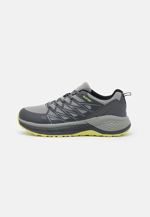 TRAIL DESTROYER - Trekingové boty - charcoal/black/limoncello