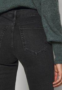 Topshop - JAMIE  - Jeans Skinny Fit - washed black - 3