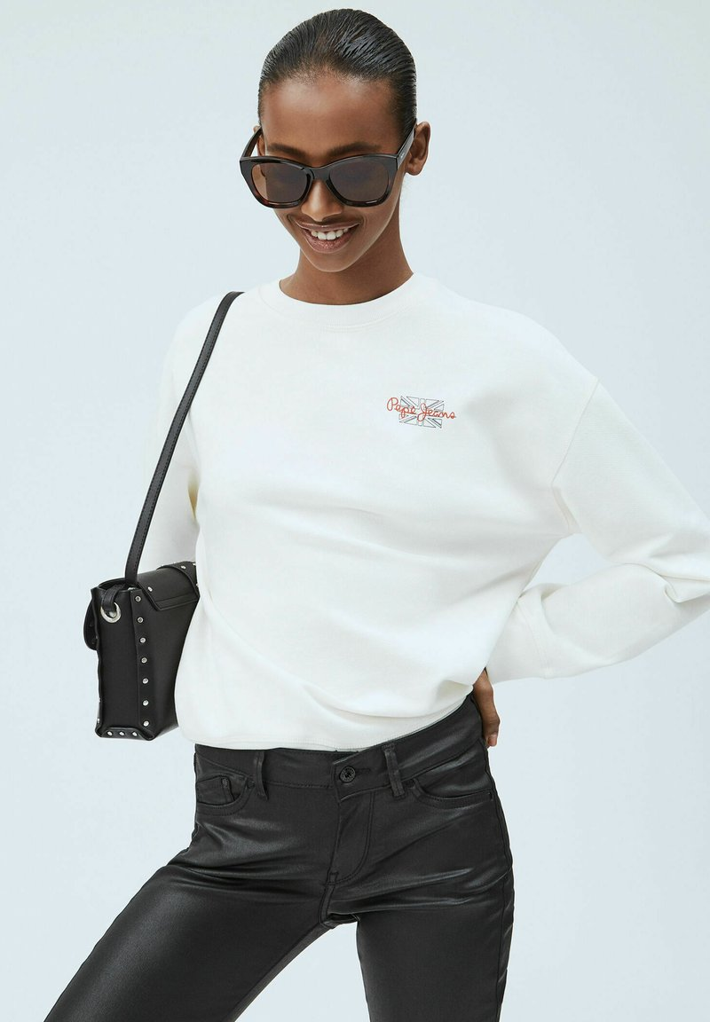 Pepe Jeans - BONNIE - Sweatshirt - blanco off