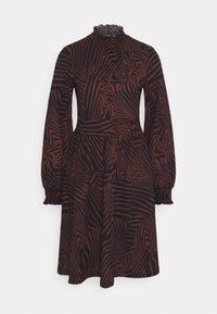 ONLY - ONLZILLE SMOCK DRESS - Jersey dress - port royale - 4