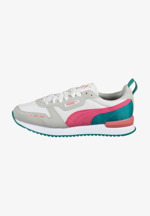 Sneakers basse - white / glowing pink / gray violet