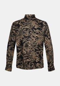 Esprit - MIT BOTANIK-PRINT - Shirt - black - 8