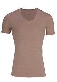 OLYMP - Basic T-shirt - creme - beige - 0