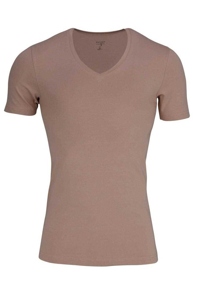 OLYMP - Basic T-shirt - creme - beige