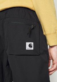 Carhartt WIP - HURST PANT - Tracksuit bottoms - black - 8