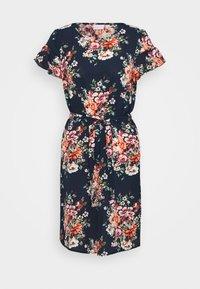 Vila - VIDIANA LUCY FLOUNCE DRESS - Kjole - navy - 0