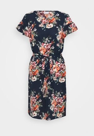 VIDIANA LUCY FLOUNCE DRESS - Day dress - navy