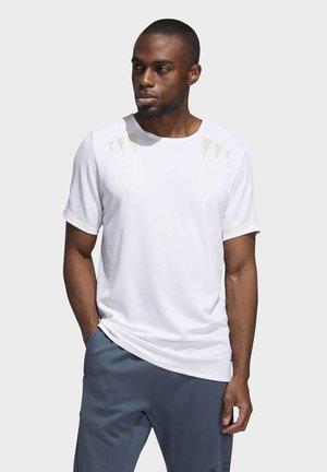HEAT.RDY PRIME T-SHIRT - Print T-shirt - white