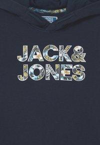 Jack & Jones Junior - JJFLEUR - Felpa con cappuccio - navy blazer - 2