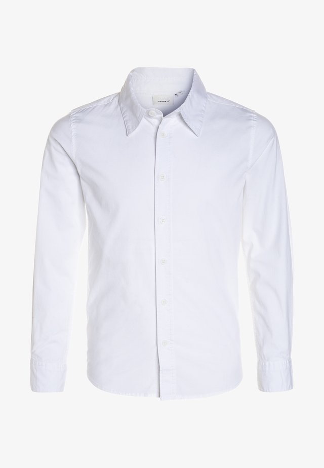 NITFRED SLIM - Shirt - bright white