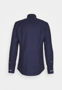 Eton - SLIM FINE DOTTED WEAVE SHIRT - Formal shirt - blue - 1