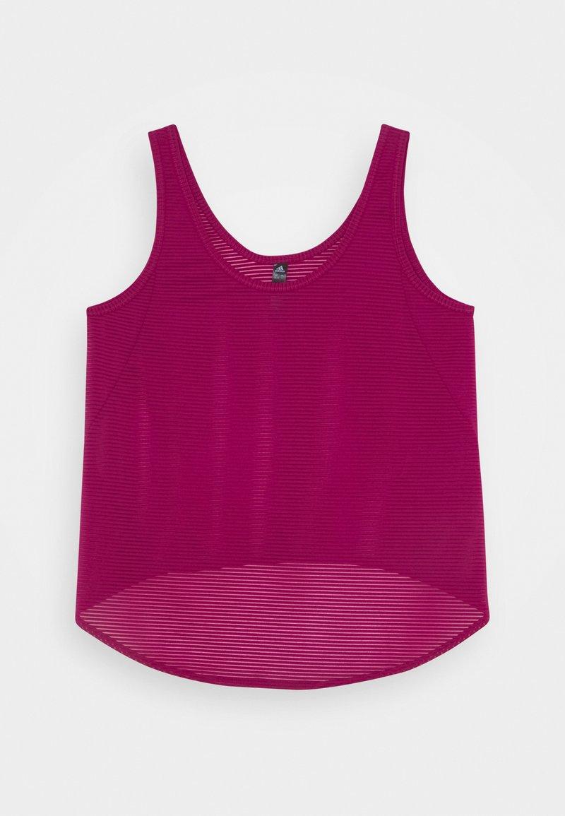 adidas Performance - COMMUTER TANK - Camiseta de deporte - berry/purple