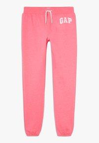 GAP - GIRL LOGO - Teplákové kalhoty - pink jubilee - 0