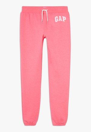 GIRL LOGO - Tracksuit bottoms - pink jubilee