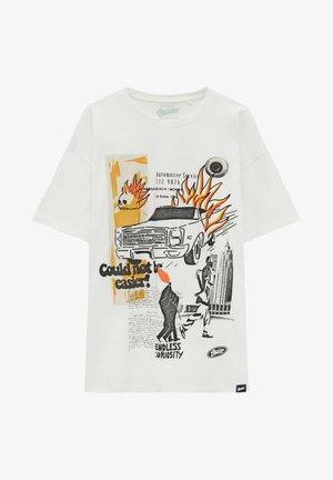 AUTO-PRINT - Print T-shirt - off-white