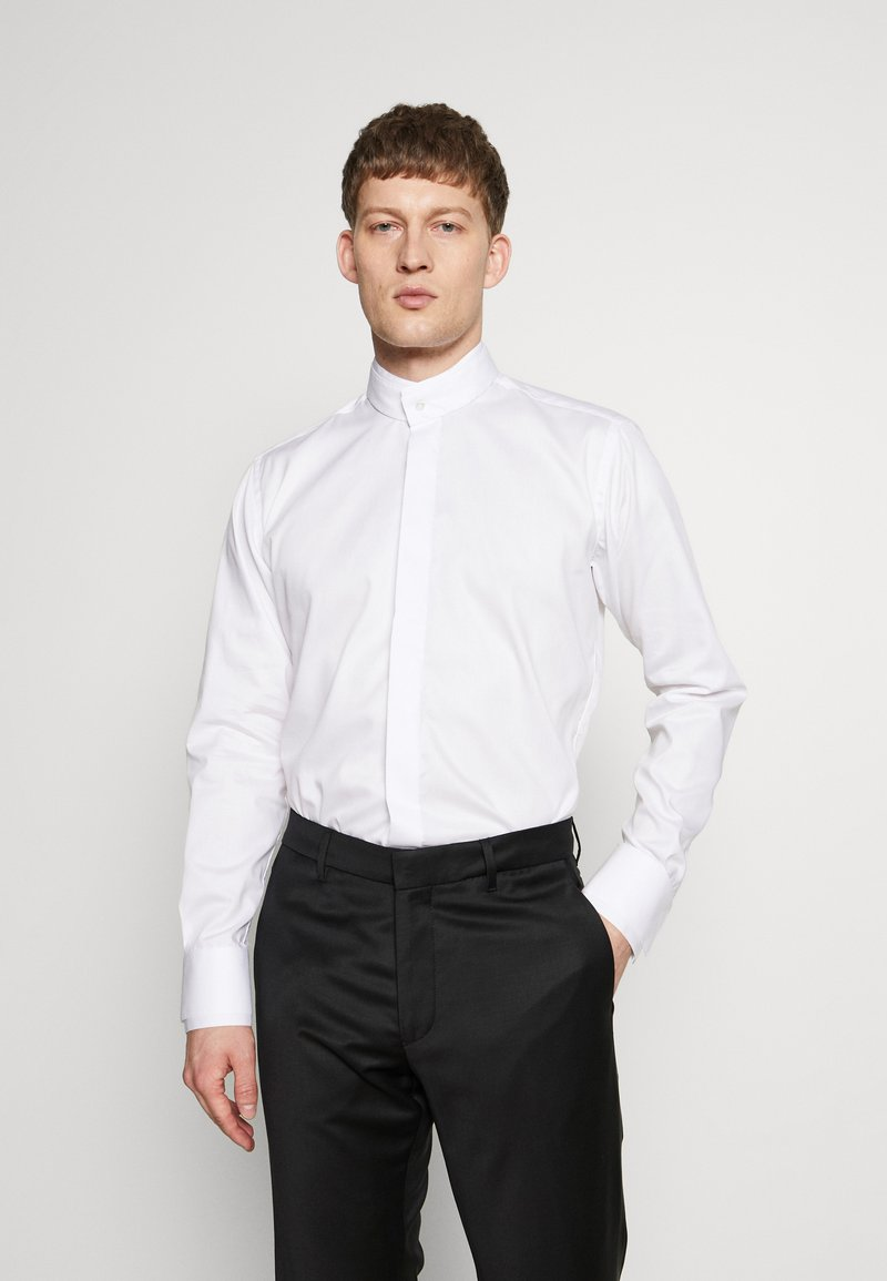 KARL LAGERFELD - MODERN FIT - Camicia elegante - white