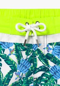Sunuva - TEEN BOYS TROPICAL PALM  - Swimming shorts - navy - 3