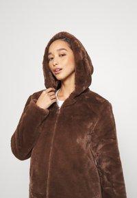 JDY - JDYTIT LONG - Classic coat - pinecone - 4