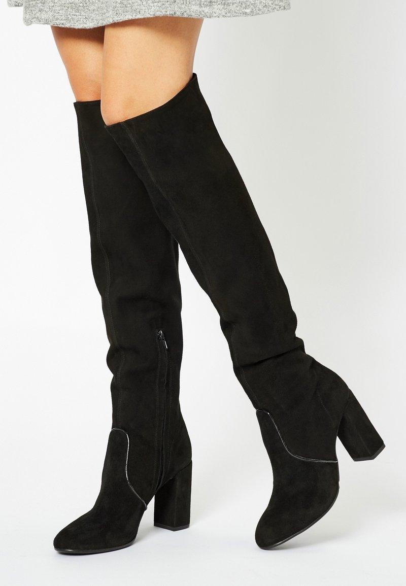 faina - High heeled boots - black