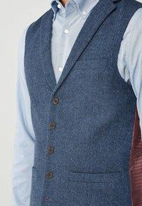 Next - BLEND WAISTCOAT - Vesta do obleku - mottled blue - 3