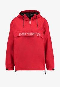Carhartt WIP - SCRIPT - Windbreaker - cardinal/white - 4
