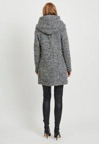 Vila - Short coat - light grey melange - 2