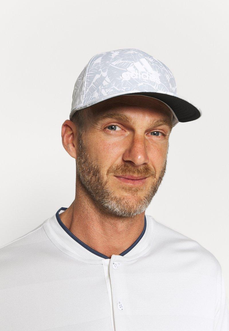 adidas Golf - TOUR PRINT HAT - Gorra - white