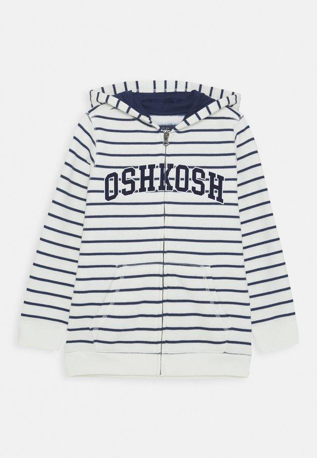 ZIP HOODIE - Zip-up hoodie - blue