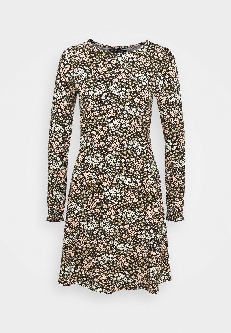 Dorothy Perkins - CLUSTER DITSY PUFF SLEEVE SHEERED CUFF - Jerseykjole - green