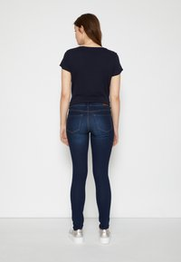 TOM TAILOR DENIM - NELA - Jeans Skinny Fit - used dark stone blue