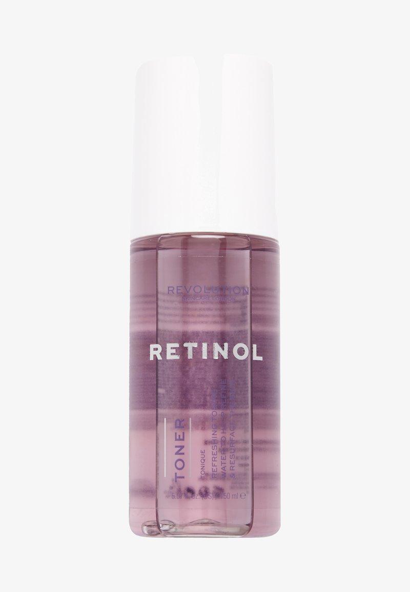 Revolution Skincare - RETINOL TONER - Tonico viso - -