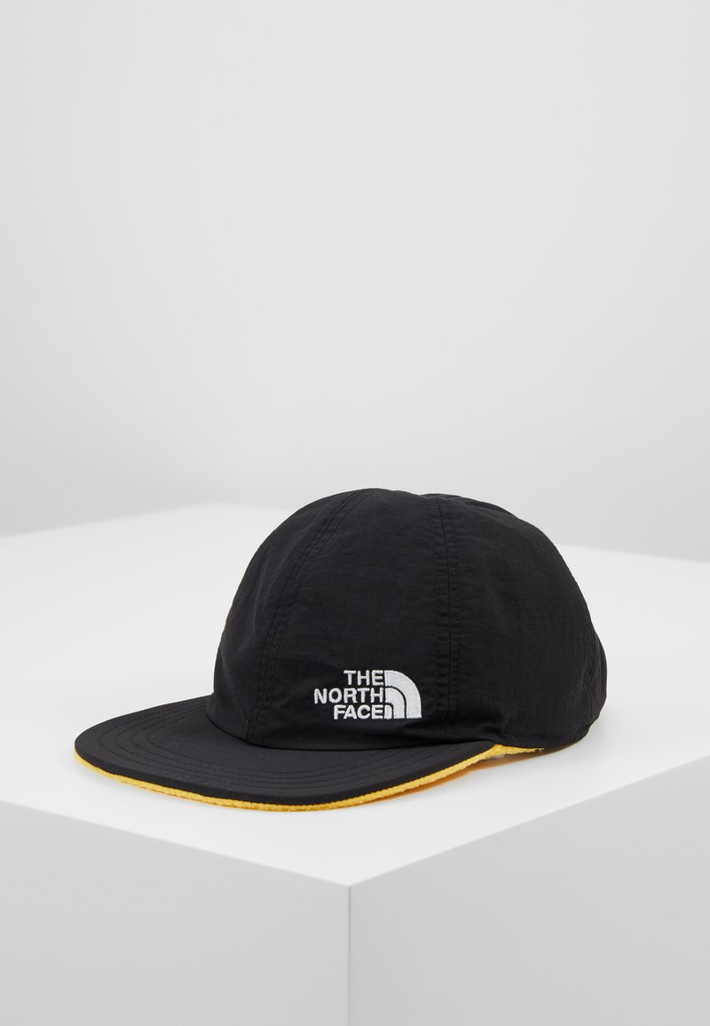 The North Face - REVERSIBLE NORM HAT - Cap - black/yellow