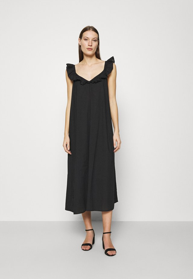 FLORE DRESS - Day dress - jet black