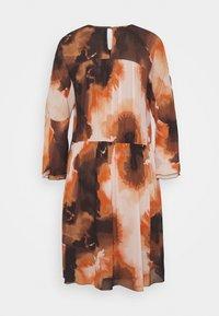 Mos Mosh - CIRAH BLUR DRESS - Day dress - autumn leaf - 1
