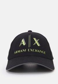 Armani Exchange - BASEBALL UNISEX - Gorra - nero - 3