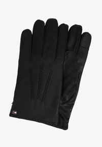 Tommy Hilfiger - FLAG GLOVES - Gants - black - 0