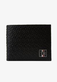 Tommy Hilfiger - MONOGRAM MINI WALLET - Wallet - black - 1