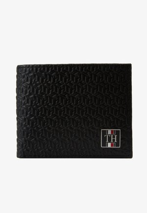 MONOGRAM MINI WALLET - Peněženka - black